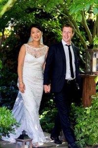 Основатель Facebook Марк Цукерберг женился