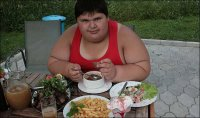 Джамбик Кхатокхов - самый толстый мальчик в мире