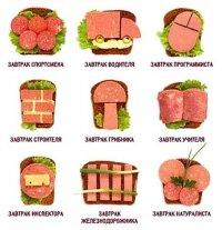 Украшение бутербродов