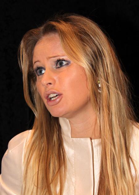Дана Борисова не умеет выбирать помаду