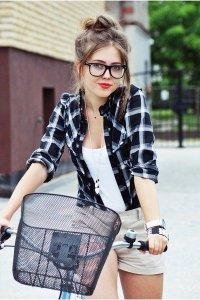 Простая девчонка с улицы - модный образ
