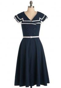 Платье морячки