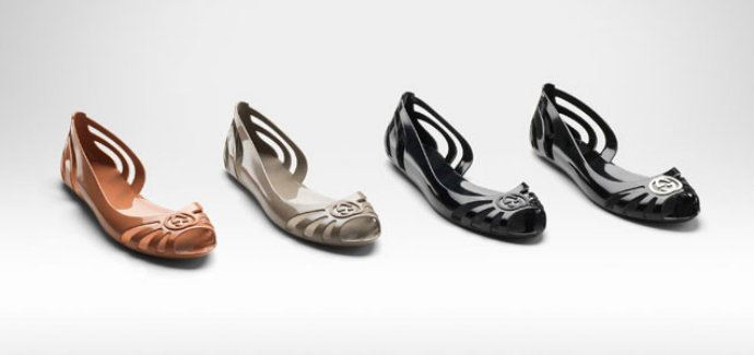 Экологическая обувь от Gucci