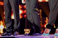 Дантес вышел на сцену без обуви