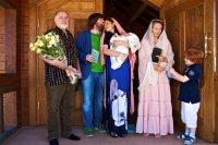 Эвелина Блёданс окрестила сына