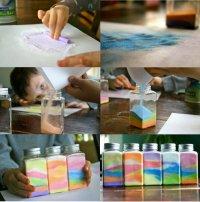 Создайте радугу в бутылке
