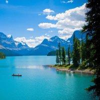 Озеро Малайн, Канада