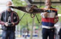 Летающий кот с моторчиками