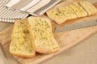 Хлеб с чесноком в хлебопечке