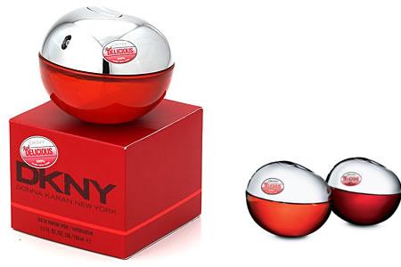 DKNY BE DELICIOUS RED - элегантная страсть