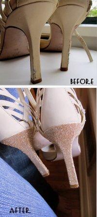 Реставрация каблуков своими руками
