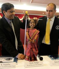 Самая маленькая женщина в мире