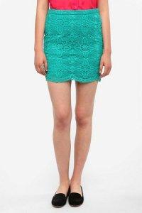 Кружевные юбки - тренд сезона