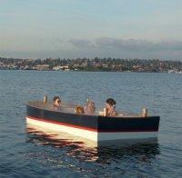Горячая лодка