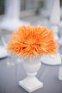 Свадебный цветовой тренд: мандариновое танго