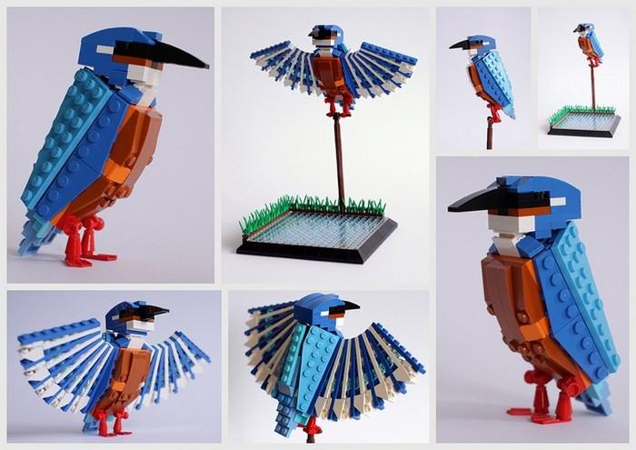 Птица-LEGO