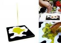 Тарелка для масла, подливки и соусов