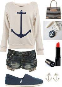 Морской стиль для прогулки
