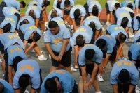 Фото дня: фитнес для офицеров полиции