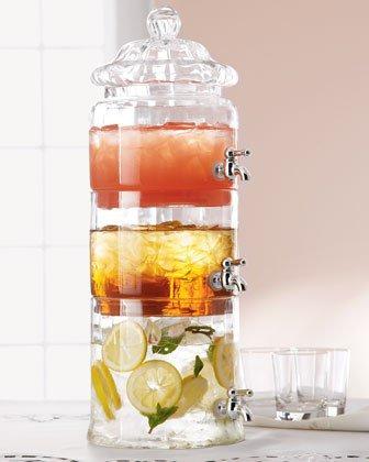 Графин для трех видов напитков