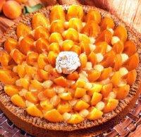 Абрикосовый пирог с маком