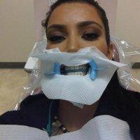 Ким Кардашьян у дантиста. Триллер
