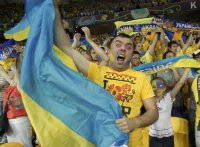 Украинские фаны перекричали Ниагарский водопад