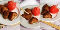 Жареные рисовые колобки - яки онигири