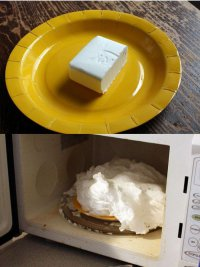 Что будет, если разогреть мыло в микроволновке?