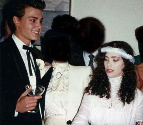 Свадьба Джонни Деппа