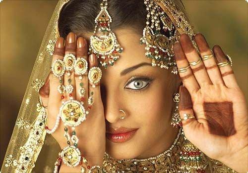 Индийские украшения: нат
