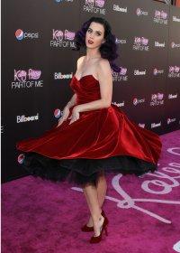 Кэти Перри на премьере фильма  «Кэти Перри: частичка меня 3D»