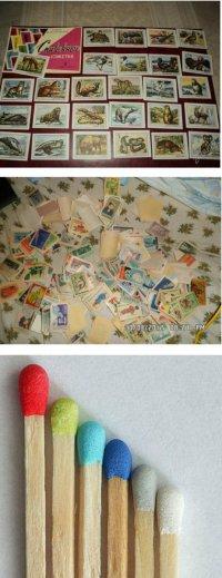 Советская коллекция: спичечные этикетки и цветные спички