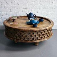 Резной кофейный столик