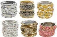 Индийские украшения: наручные браслеты