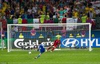 Англия-Италия: провокация на футболе