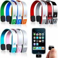 Яркие Bluetooth-наушники
