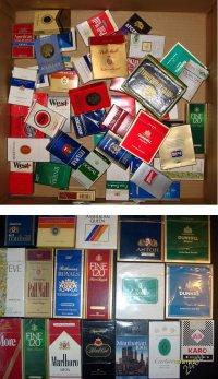 Советская коллекция: сигаретные пачки