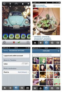 Вышла новая версия Instagram