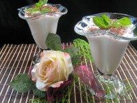 Творожный десерт «Мятный поцелуй»