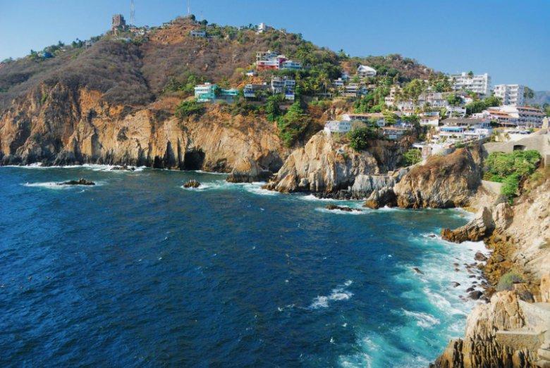 Акапулько - город на скале