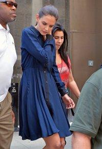 Кэти Холмс уже без обручального кольца