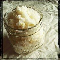 Скраб для лица: скраб из морской соли
