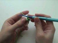 Как вяжется крючком столбик без накида?
