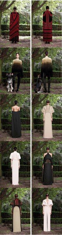 Givenchy: маски, бисер и кожа