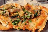 Куриное филе с грибами