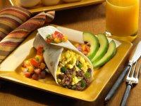 Обед: буррито