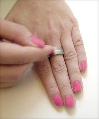 Кольцо с пилочкой