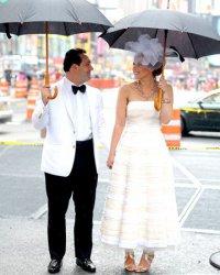 Свадьба в черно-белом стиле: наряды жениха и невесты