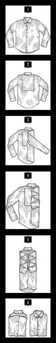 Как сложить рубашку?